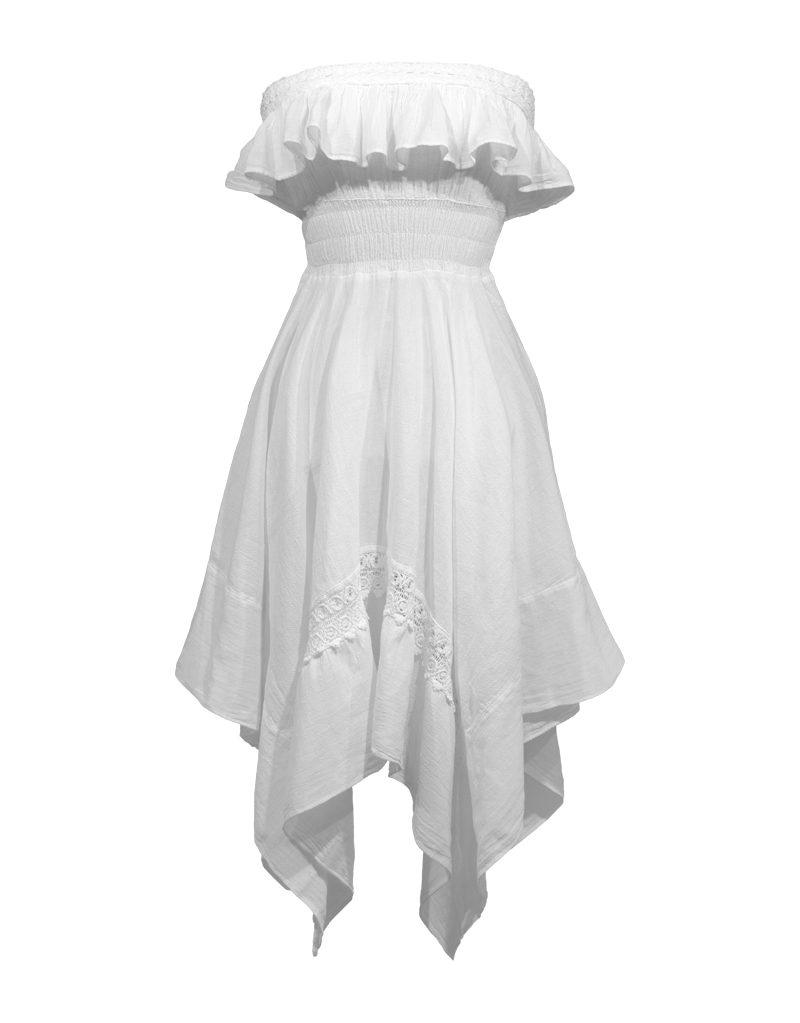 CANDICE CUOCO's CHIARA Handkerchief Dress - Front