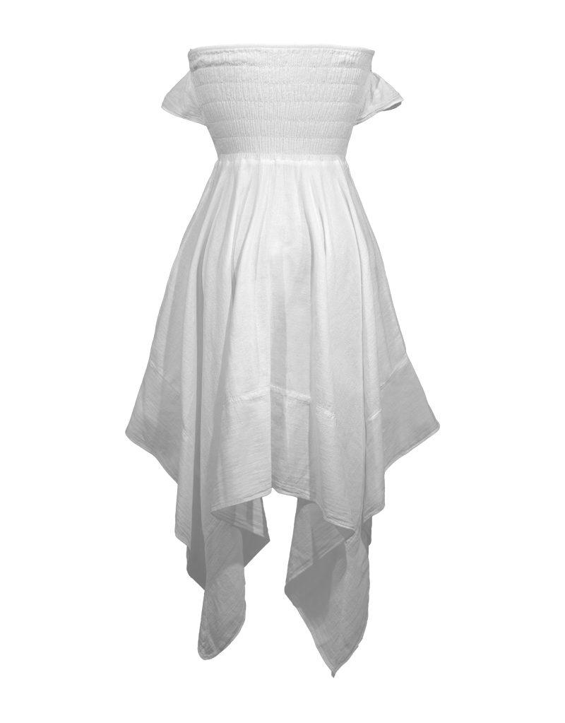 CANDICE CUOCO's CHIARA Handkerchief Dress - Back
