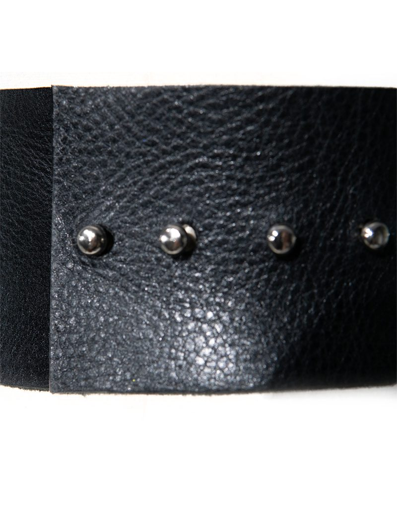 CANDICE CUOCO's MARTINA Leather Belt - Back
