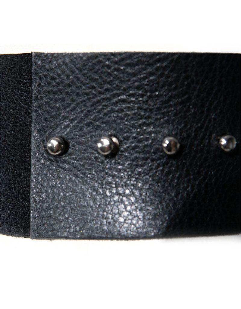CANDICE CUOCO's MARTINA Leather Belt - Back